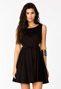Cutout Bow Dress Forever21 Dresses Specialoccasion Forever 21 Outfits