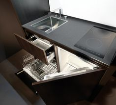 Compact Kitchens from Kitchoo - http://freshome.com/2011/11/03/not-ready-compact-kitchens-from-kitchoo/