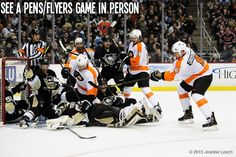 Hockey Bucket List - See a Penguins-Flyers game live