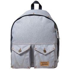 EASTPAK Jean Paul Gautier Denim Jeans Backpack