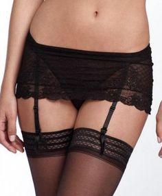 DKNY Garter Thong