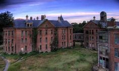 Awesome Taunton Mental Hospital #Taunton #Massachusetts haunted abandoned opened in 1854 the Hospital's main building has been abandoned since 1975