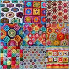 Using Tiny Crochet Squares - Yahoo Image Search Results