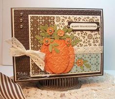 Pretty Pumpkin card