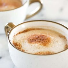 Homemade Cinnamon Dolce Latte Recipe