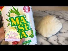 Como preparar masa para tortillas de maiz - YouTube Real Mexican Food, Mexican Food Recipes, Snack Recipes, Snacks, How To Make Enchiladas, How To Make Tortillas, Mexican Empanadas, Masa For Tamales, Maseca