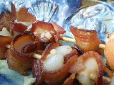 """Bacon Wrapped Scallops: """"Fantastic! I used maple bacon, and the flavor was wonderful."""" -Cluich"""