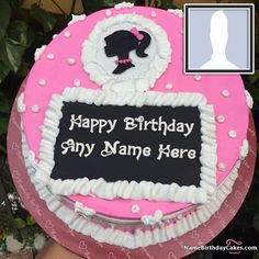 Amazing Birthday Cakes For Girls With Photo And Name