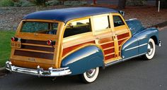 If you're looking to acquire that icon of post-War America–the wood-paneled station wagon–check out the offerings at this weekend's Raleigh Classic Car Auction. Station Wagon, General Motors, Buick, Carros Vw, E Skate, Woody Wagon, Pontiac Cars, Wooden Car, Ford