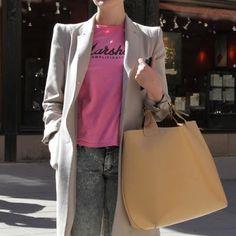 Moda de Rua: Bolsonas - Street Style: Big Bags