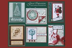 Stamp of the Month November 2011 - Great Impressions Rubber Stamps Diy Cards Stamps, Creative Cards, Advent Calendar, November, Gallery Wall, Holiday Decor, Frame, Christmas, Home Decor