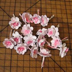 narpa - originální papírová přání a výrobky: Návod na papírové kytičky
