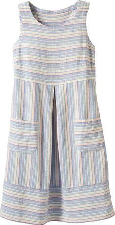 Ella Simone Striped Sleeveless Dress