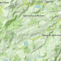 France 3 - Massif Central 1 - Distance: 100.36 km - Elevation: 1820 hm - Location: Le Mont-Dore, Auvergne-Rhône-Alpes, France