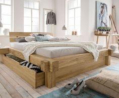 Bett Platzsparend bett andalucia aus massivholz mit viel stauraum betten de