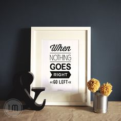 LOVE this. :: A4 Typographic print by LittleMars