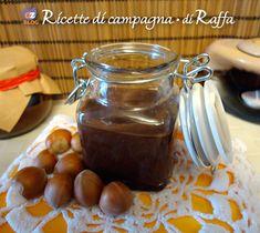 Crema di nocciole con cioccolato fondente e olio d'oliva | Ricette di campagna
