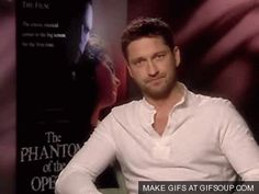 Gerard Butler can wink at us all day...