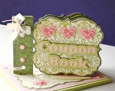The perfect gift for mom on Mother's Day--created using the Mother's Day Coupon Book #Cricut Craft Room Exclusive!