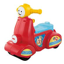 FisherPrice Laugh  Learn Smart Stages Scooter. Wide wheel design for stability. Ages 12 months & up.