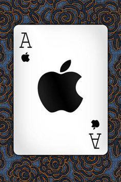黑桃Ace不夠看,我有一張黑蘋果 Ace。