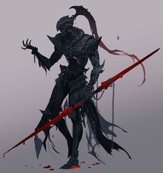 Fantasy Character Design, Character Design Inspiration, Character Concept, Character Art, Monster Concept Art, Monster Art, Fantasy Armor, Dark Fantasy Art, Dnd Characters