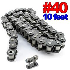 120 H Roller Chain for Sprocket 10 Feet With 1 Connecting Link Drive Chain