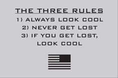 The Three Rules T-Shirt (Grey) - GORUCK (large)