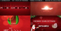 After Effects Project Files - Merry Christmas Typography Opener | VideoHive