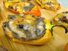 The Lifestyle Notebook : Avocado, Black Bean & Jalapeno Stuffed Mini Peppers