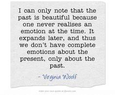 Virginia Woolf - on emotions