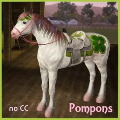 Pompons01 by nkym_penguins - The Exchange - Community - The Sims 3