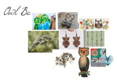 """""""Owl Be"""" by rocky-springs-vintage ❤ liked on Polyvore featuring Lollipop Designs, owl and integrityTT"""