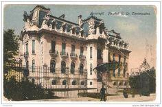 Bucuresti - Palatul G Gr Cantacuzino - antebelica Old Photography, English Style, Old Postcards, Romania, Old Photos, Big Ben, Dan, Memories, French