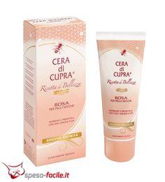 € 2,25  CERA DI CUPRA CREMA CORPO ROSA PER PELLI SECCHE Cera di Cupra Rosa è una crema corpo dalla consistenza ricca e nutriente, che la rende particolarmente adatta per le pelli che necessitano p...