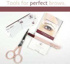 Brow tools for perfect brows