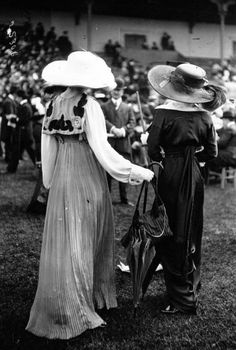 Prix de Diane, Chantilly, 1912.