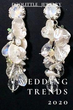 Rose Necklace, Pearl Stud Earrings, Sterling Silver Earrings Studs, Fancy Earrings, Boho Earrings, Statement Earrings, Trends, Wedding Earrings, Wedding Jewelry