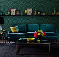 blue sofa | Fabric sofas | Classic English sofa | 2 and 3 seater sofas | Chaise
