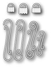 Memory Box - Dies - Ornament Caps and Hooks