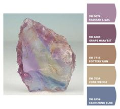Nature's pastel version of Ametrine