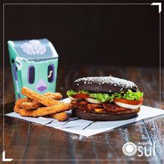 Assustador? Não, delicioso!  Indicação da Burger King.
