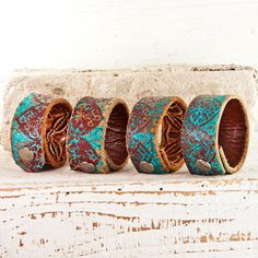 In Love W/ the Southwest Turquoise Jewelry Cuff Turkois Turqouise by rainwheel