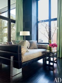 Contemporary Bedroom by Drake Design Associates and Annabelle Seldorf in New York, New York