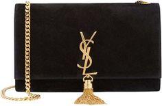 Dream Bag! Saint Laurent Ysl Suede Monogram Medium Tassel