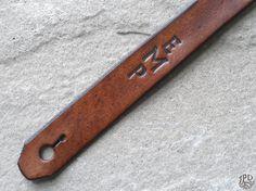 Correa de guitarra de cuero personalizados personalizada por JPDco