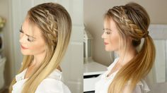 One of my favorite hair tutorials is the Double Braided Ponytail. It looks like such an intricate braid but is actually two braids in one. It got me thinking...