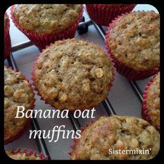 Banana Oat Muffins {Thermomix}