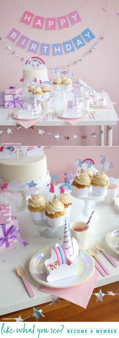 Wow Them With Whimsy  We have assembled everything you need to create your own enchanting unicorn celebration. The best part? All of these 11 projects are printable! See this link for some unicorn party inspiration to tickle your fantasy fancy.  https://liagriffith.com/printable-unicorn-party-decor/ * * * #printable #printables #unicorn #unicorns #unicornios #magic #rainbow #paper #paperlove #papercut #diy #diyidea #diyideas #diycraft #diycrafts #diykids #kidsparties #kidspartydecor…