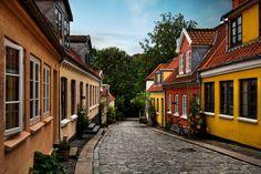 Odense city, Denmark